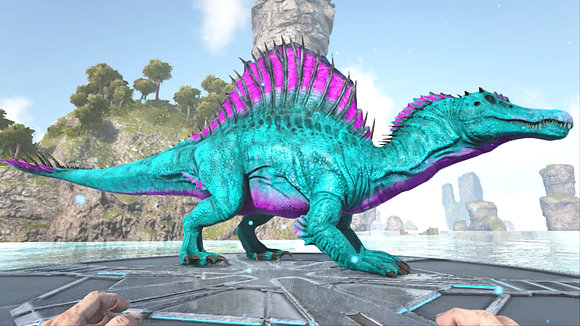 Top stats Cotton Candy abberrant spino 100% imprinted