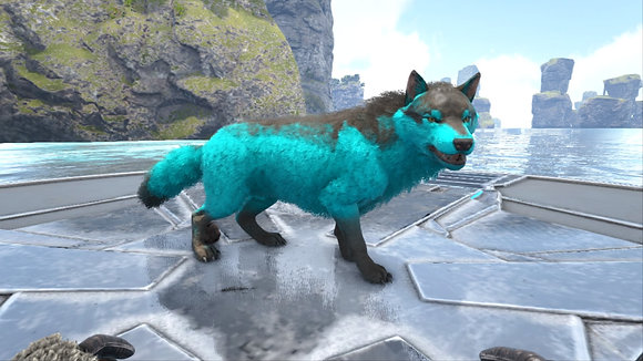 Cyan event Wolf 🐺 273 with some levels left