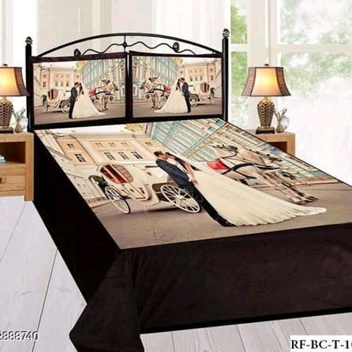 Ammu Elite Velvet Printed Double Bedsheets Vol 11