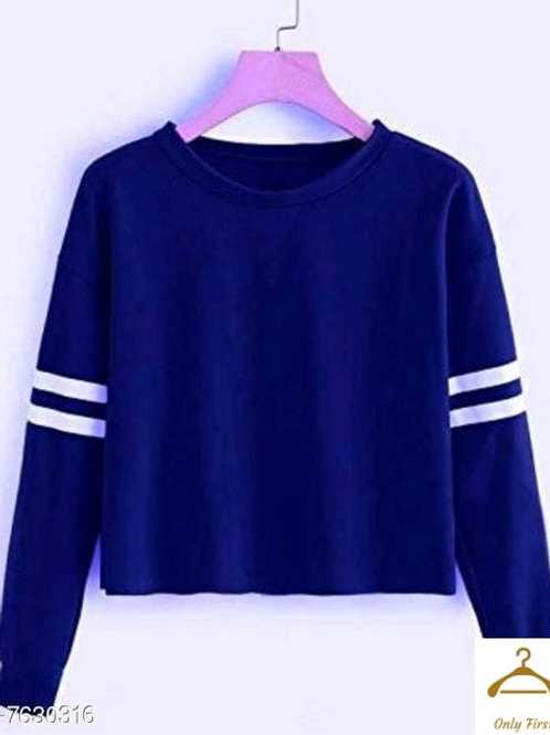 Classic Glamorous Blue Women Tshirts