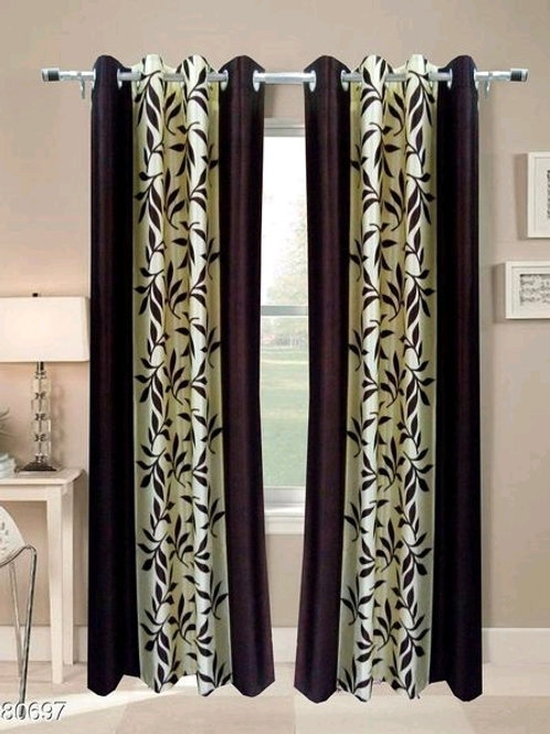 Classic Polyester Door Curtains Vol 4