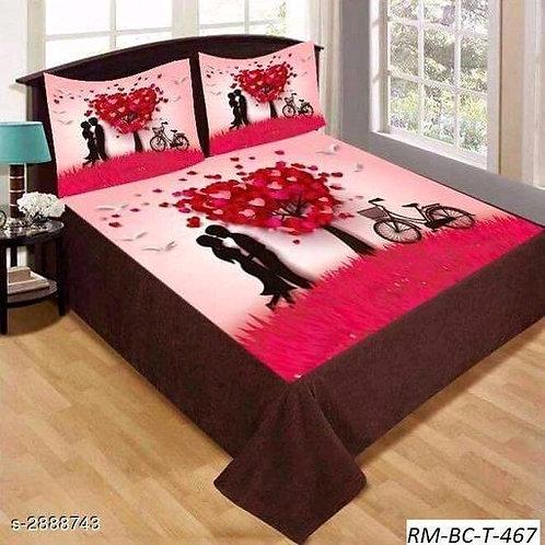 Ammu Elite Velvet Printed Double Bedsheets Vol 1