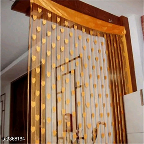 Fashionable Net Polyester Door Curtains Combo Vol 7