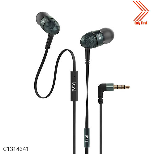 BOAT BASSHEADS 225 Wired Earphones With Mic