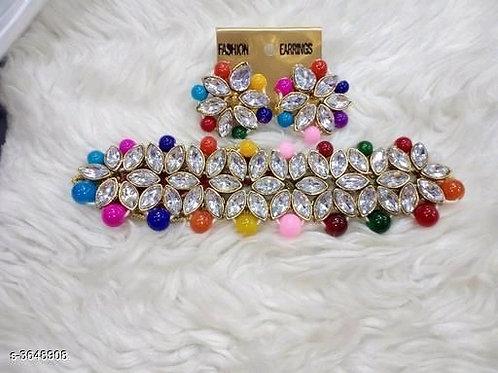 Arya Fancy Alloy Women's Jewellery Sets Vol 8