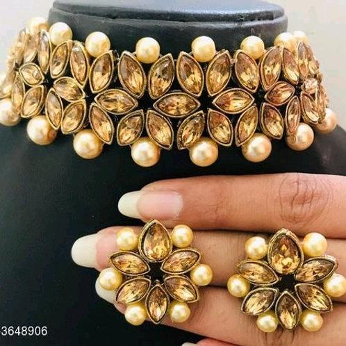 Arya Fancy Alloy Women's Jewellery Sets Vol 14