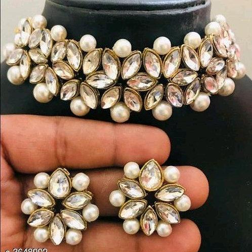 Arya Fancy Alloy Women's Jewellery Sets Vol 7