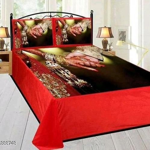 Ammu Elite Velvet Printed Double Bedsheets Vol 5