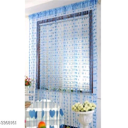 Fashionable Net Polyester Door Curtains Combo Vol 11