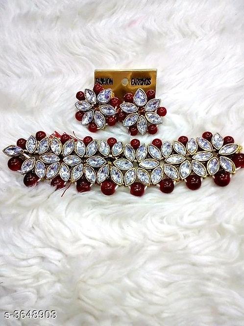 Arya Fancy Alloy Women's Jewellery Sets Vol 13