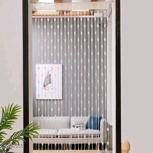Fashionable Net Polyester Door Curtains Combo Vol 2