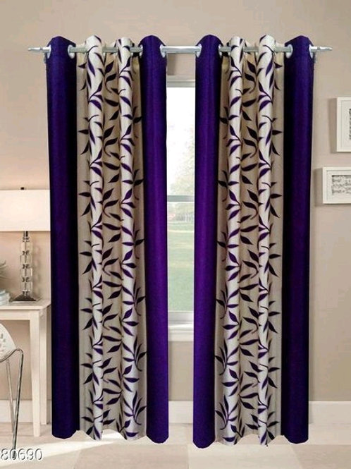 Classic Polyester Door Curtains Vol 6