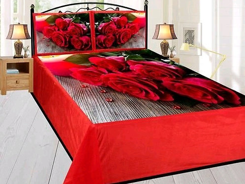 Ammu Elite Velvet Printed Double Bedsheets Vol 6