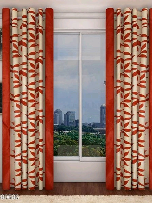 Classic Polyester Door Curtains Vol 3