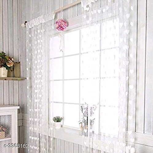 Fashionable Net Polyester Door Curtains Combo Vol 8