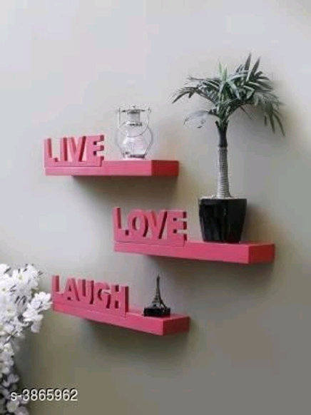 Trendy Wooden Floating Wall Shelf Vol 1Only First
