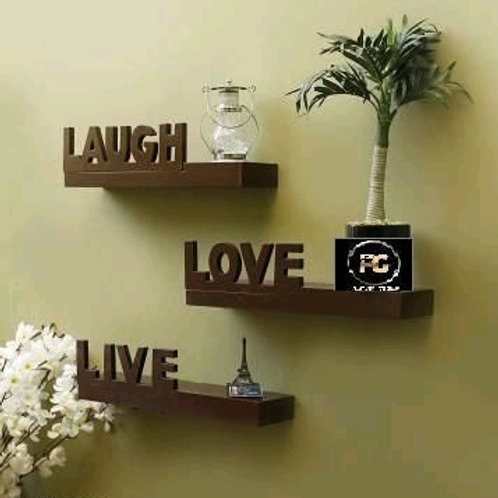 Trendy Wooden Floating Wall Shelf Vol 2Only First