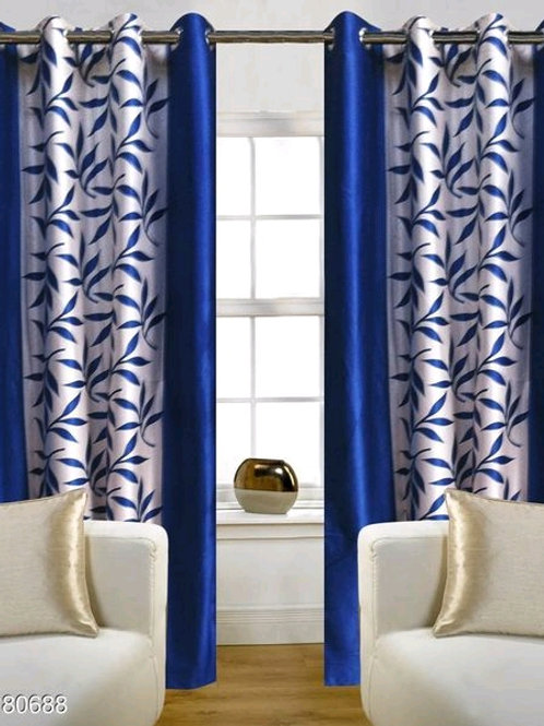 Classic Polyester Door Curtains Vol 7