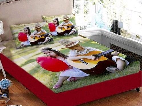 Ammu Elite Velvet Printed Double Bedsheets Vol 8
