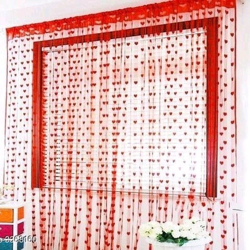Fashionable Net Polyester Door Curtains Combo Vol 5