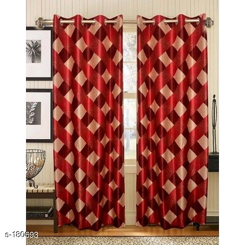 Classic Polyester Door Curtains Vol 10
