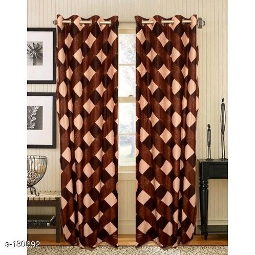 Classic Polyester Door Curtains Vol 9