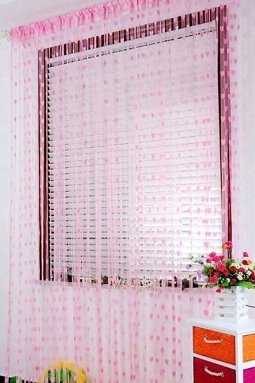 Fashionable Net Polyester Door Curtains Combo Vol 9
