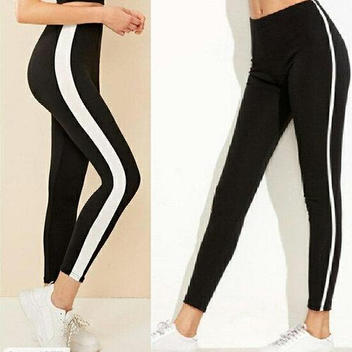 Buy 1 get 1 Free Women's Cotton Strips Sports Bottoms u2