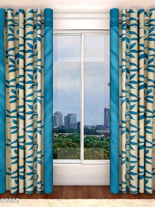 Classic Polyester Door Curtains Vol 5