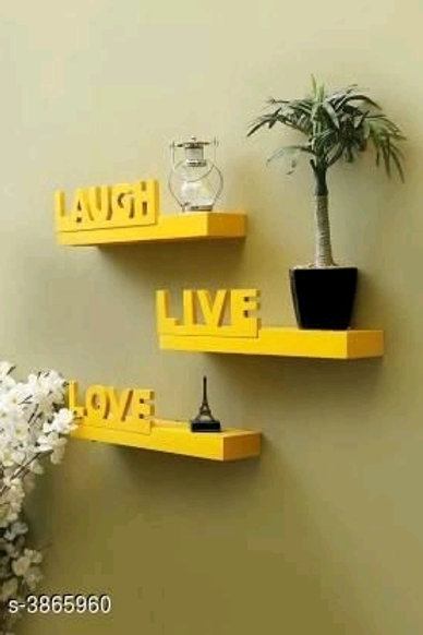 Trendy Wooden Floating Wall Shelf Vol 5Only First