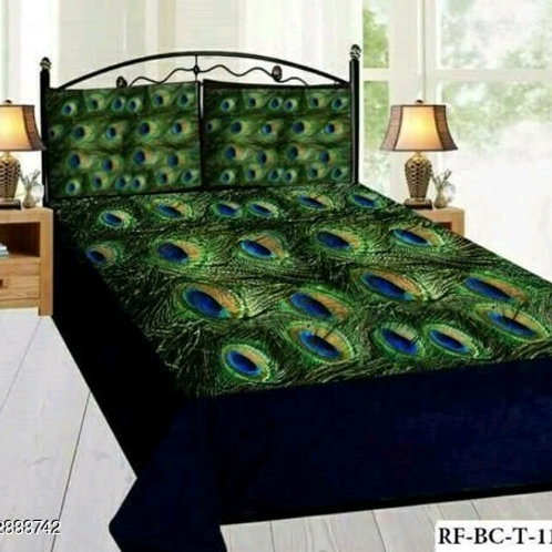 Ammu Elite Velvet Printed Double Bedsheets Vol 9
