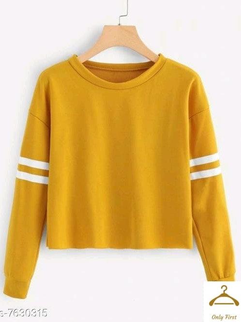 Classic Glamorous Yellow Women Tshirts