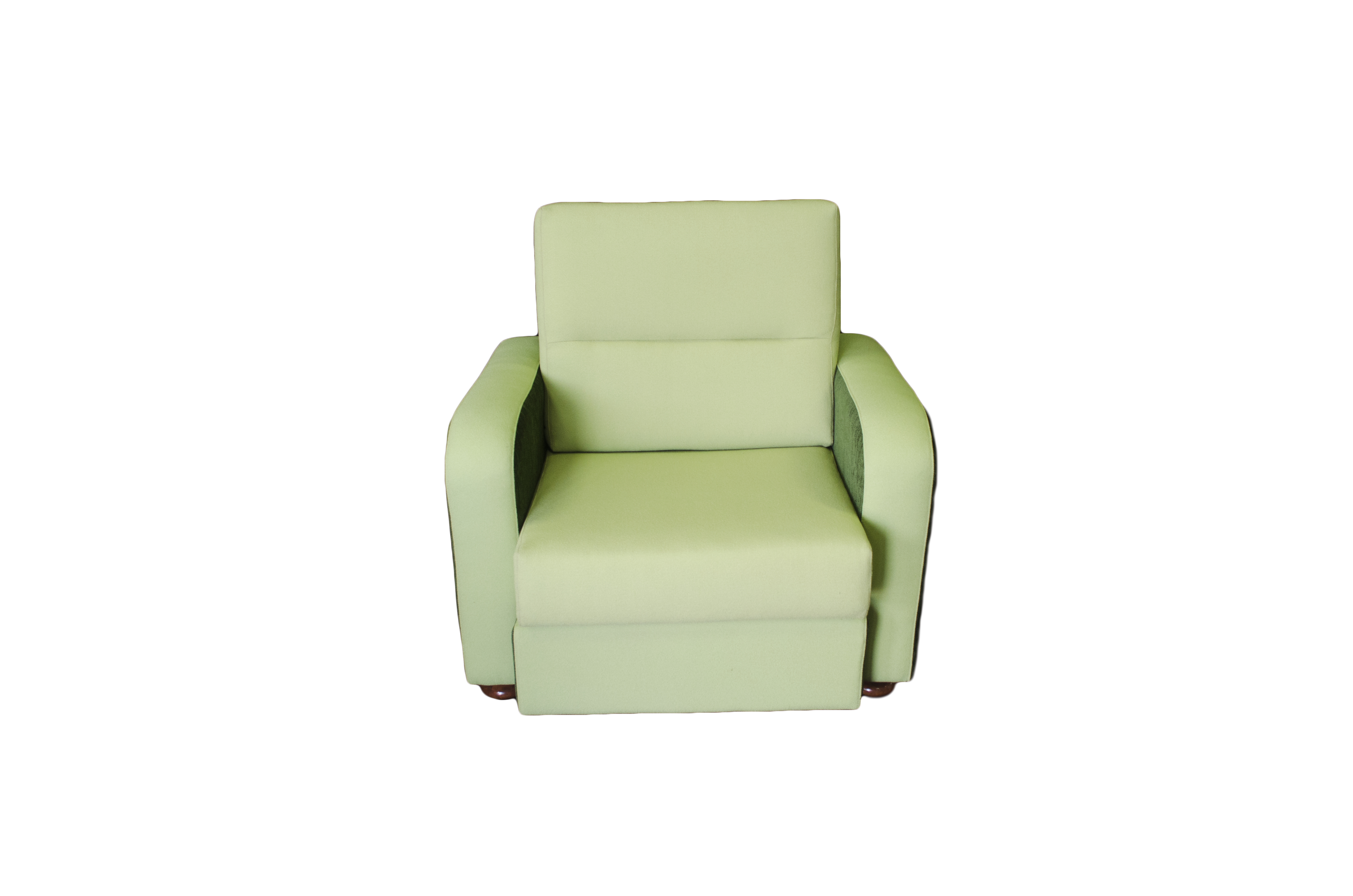 Pingelly Chair Green Fabrics front