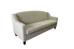 Narrogin Lounge in white fabric