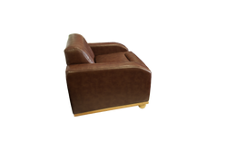 The Beverley Chair leather side