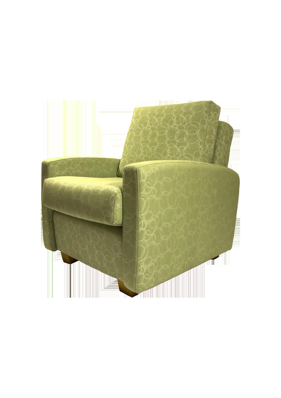 Dowerin Armchair - Green fabric