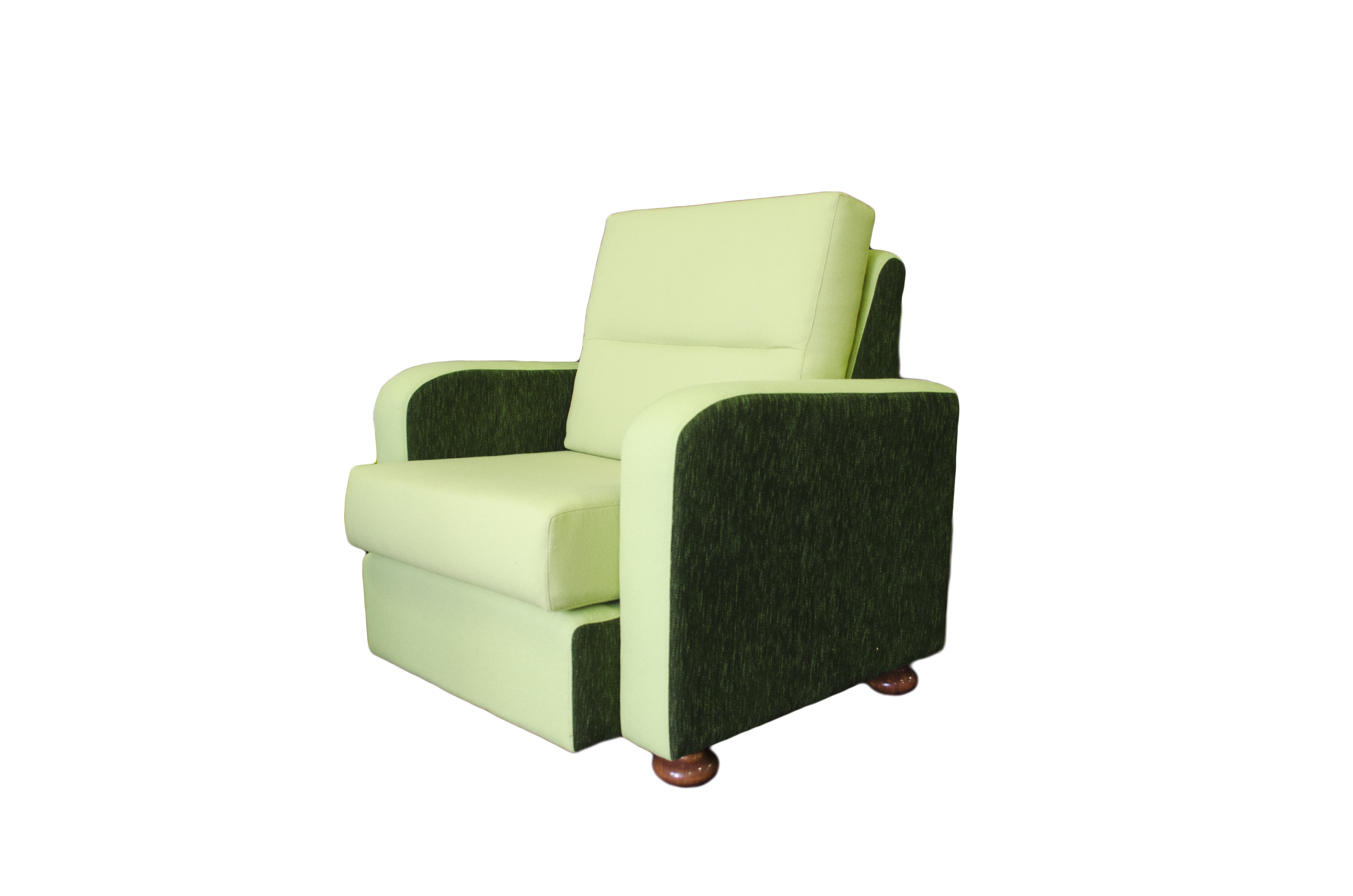 Pingelly Chair Green Fabrics side