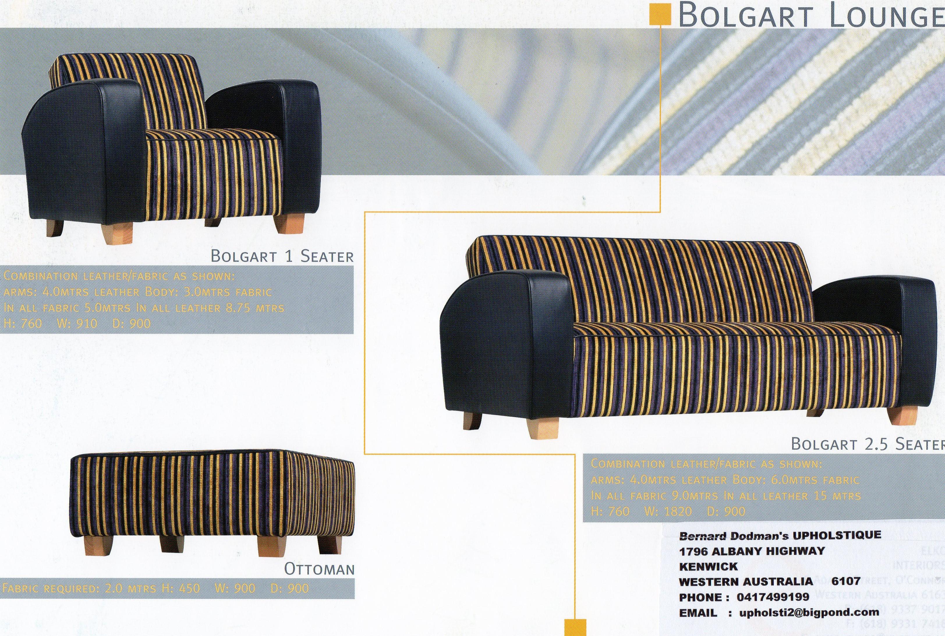 Bolgart Sofa - back