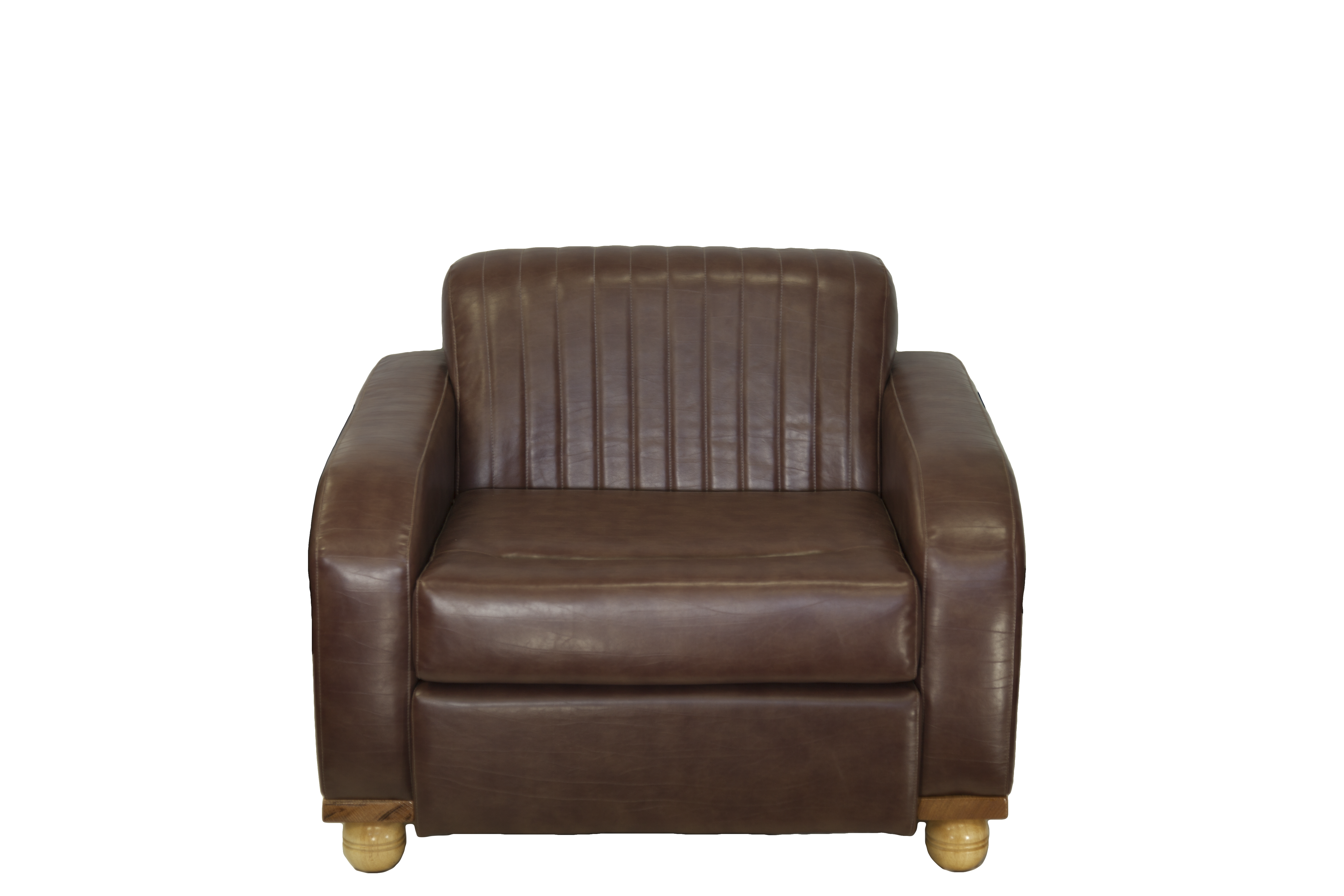 The Beverley Chair Brown Leather
