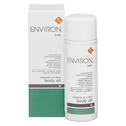 ENVIRON BODY RANGE A, C & E OIL 100ML