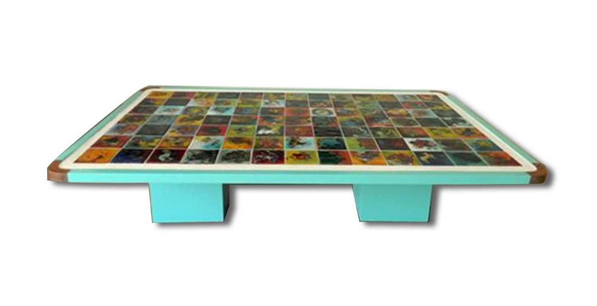 Table céramique