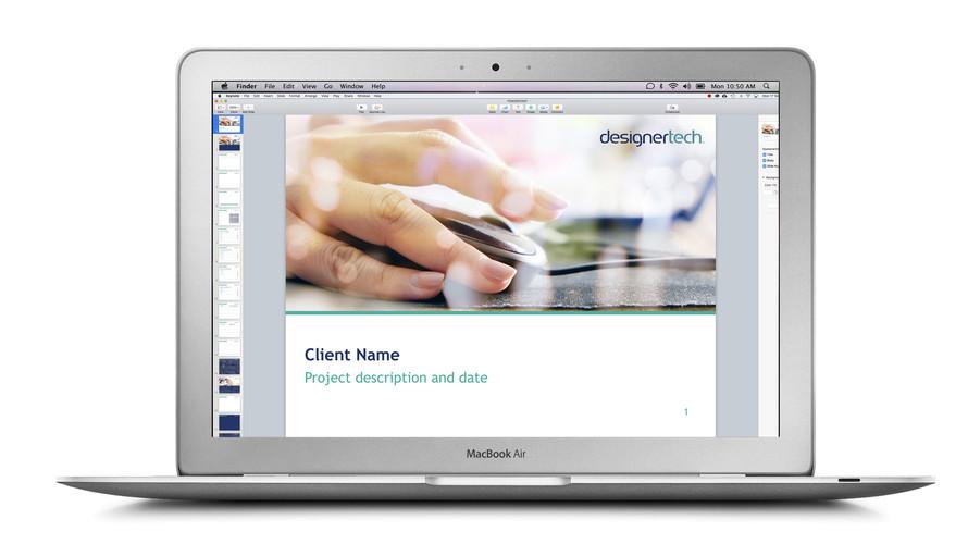 Designertech Keynote Presentation