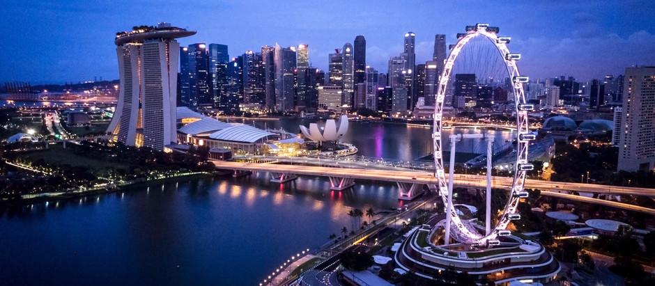Singapore after dark