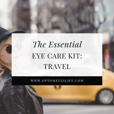 The Eye-ssential Eye Care Kit: Travel