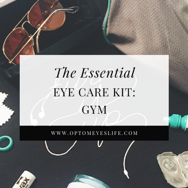 The Eye-ssential Eye Care Kit: Gym