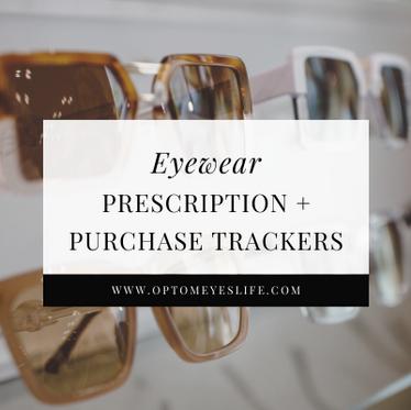 Eyewear Prescription + Purchase Trackers