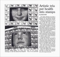 45c Health Stamp