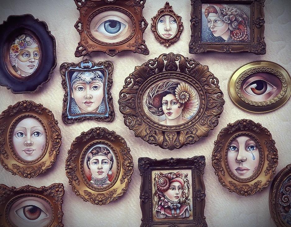Keyhole Paintings