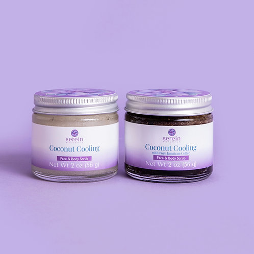 Coconut Cooling Face & Body Scrub