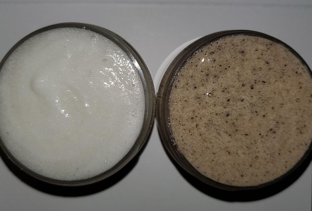 Coconut Cooling Face & Body Scrub - Regular & Coffee